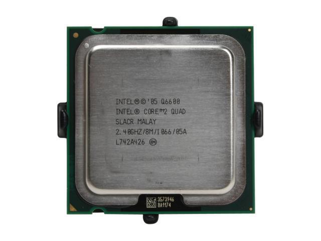 OEM Intel HH80562PH0568M Core 2 Quad Q6600 Kentsfield Processor 2.4GHz 1066MHz 8MB LGA 775 CPU OEM