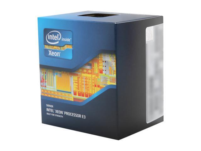 Intel Xeon E3-1270 Sandy Bridge 3.4 GHz 4 x 256KB L2 Cache 8MB L3 ...