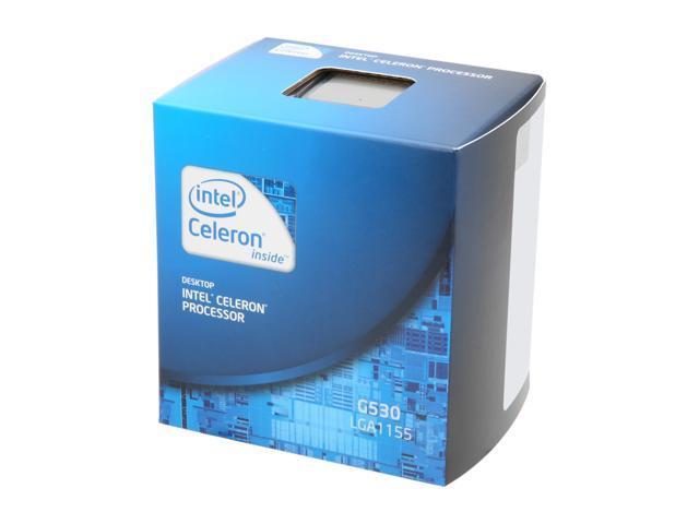 Intel Celeron G530 2 4 GHz LGA 1155 BX80623G530 Desktop
