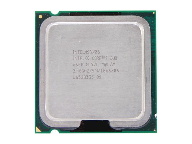 Intel Core 2 Duo E6600 Desktop CPU Processor SL9ZL