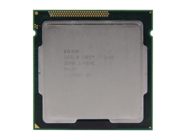 Processor Intel Core i7-2600 3.4GHz Quad-Core CM8062300834302