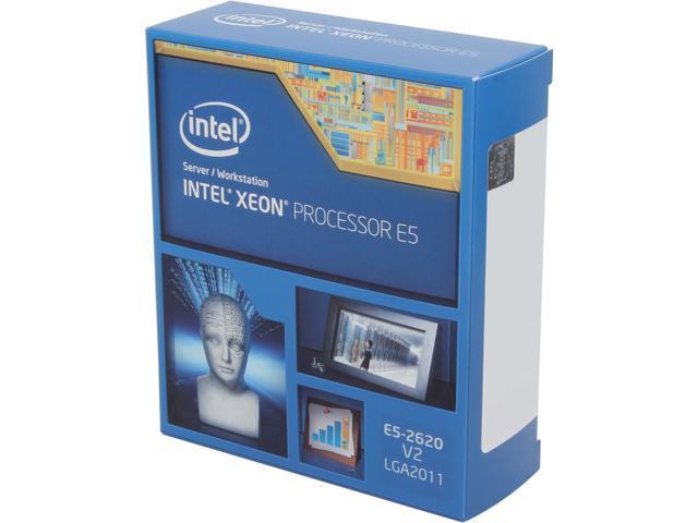Intel Xeon E5-2620 v2 2 1 GHz LGA 2011 80W BX80635E52620V2 Server Processor  - Newegg com