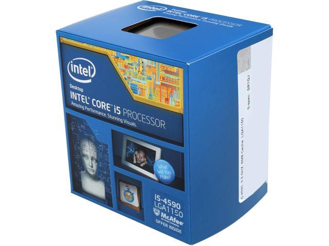 Intel 1150 i5-4590T Ci5 Box 2 GHz 6 MB Cache OEM CPU Black