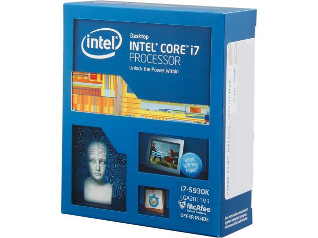 Intel Core i7-5930K Haswell-E 6-Core 3.5 GHz LGA 2011-v3 140W BX80648I75930K Desktop Processor