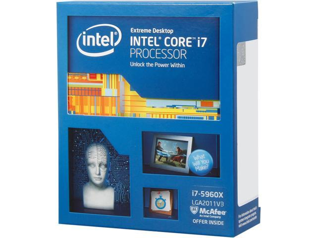 Intel Core i7-5960X Haswell-E 8-Core 3 0 GHz LGA 2011-v3 140W  BX80648I75960X Desktop Processor - Newegg com