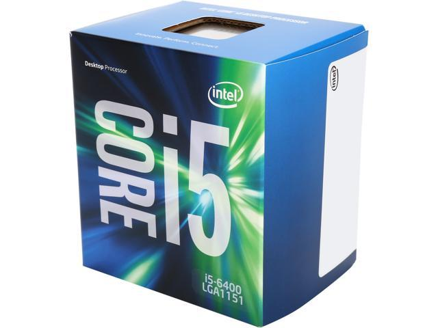 Intel Core i5-6400 2 7 GHz LGA 1151 BX80662I56400 Desktop Processor -  Newegg com