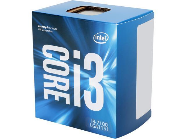 Intel Core I3 7100 Kaby Lake Dual Core 3 9 Ghz Lga 1151 51w Bx80677i37100 Desktop Processor Intel Hd Graphics 630