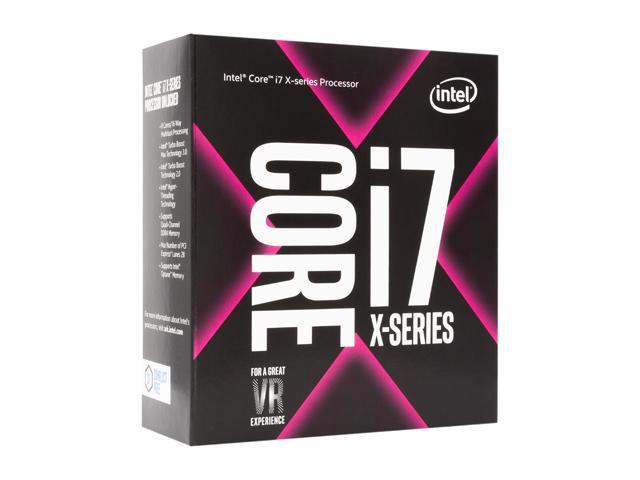 Intel Core i7 i7-7820X Octa-core (8 Core) 3 60 GHz Processor - Socket R4  LGA-2066 Retail Pack - 8MB - 11MB Cache - 8GT/s DMI - 64-bit Processing -