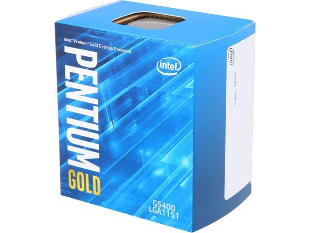 Intel Celeron & Pentium CPU