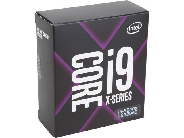 Intel Core i9-9940X Skylake X 14-Core 3.3 GHz (4.4 GHz Turbo) LGA 2066 165W BX80673I99940X Desktop Processor