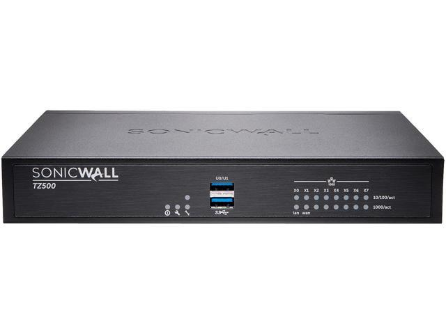 SonicWall 01-SSC-3031 TZ500 Promotional Tradeup with 3YR AGSS - Newegg com