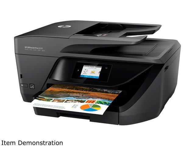 hp officejet pro 6978 all in one wireless printer with mobile printing hp instant ink t0f29a. Black Bedroom Furniture Sets. Home Design Ideas