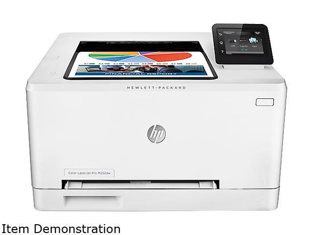 HP Laserjet Pro M252dw (B4A22A#BGJ) Duplex 600 x 600 DPI  USB//Wireless/Ethernet Color Laser Printer - Newegg com