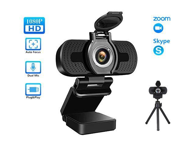 Tropro 1080P Webcam with Expandable Tripod
