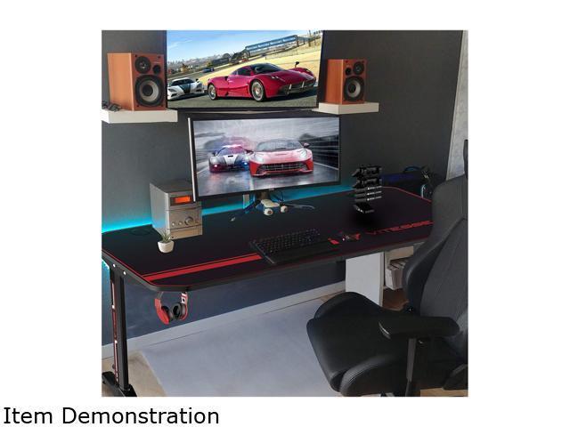 Vitesse 47 Inch Gaming Desk Racing Style Computer Desk Newegg Com