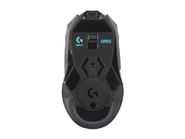 Logitech G903 LIGHTSPEED Gaming Mouse with POWERPLAY Wireless Charging  Compatibility - Newegg com