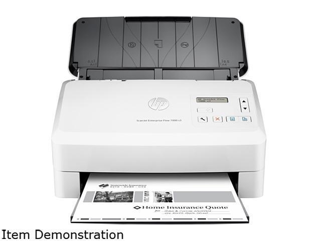 Hp Scanjet Enterprise Flow 7000 S3 Usb Color Document Scanner Newegg Com