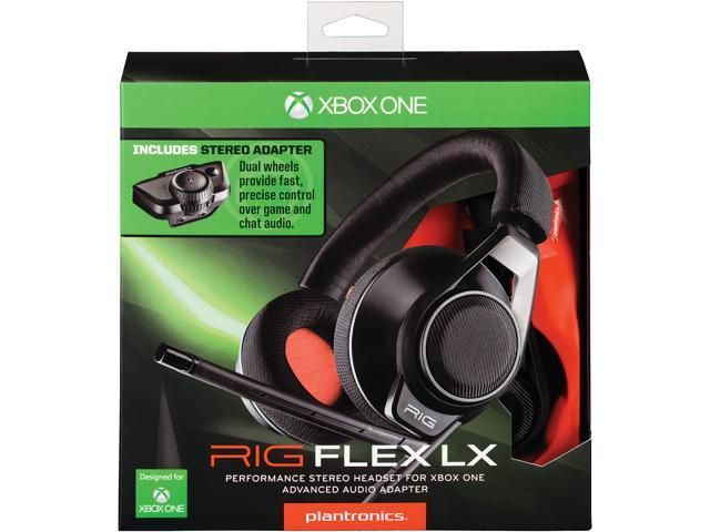 RIG Flex LX Xbox One Stereo Gaming Headset with Advanced Audio Adapter -  (Black) - Newegg com