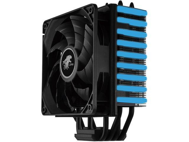 LEPA NEOllusion RGB High Performance 200W+ TDP Intel/AMD CPU Cooler with  control for adjustment of lighting modes/colors, LPANL12 - Newegg com