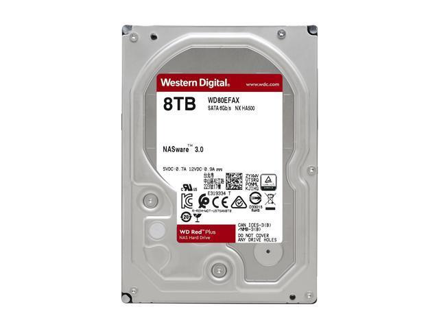 Wd Red Plus 8tb Nas Hard Disk Drive 5400 Rpm 3 5 Newegg Com