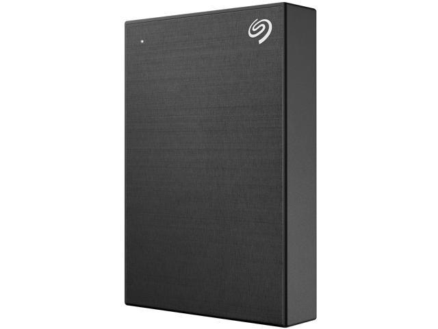 Seagate 5TB Backup Plus Portable External Hard Drive USB 3.0 STHP5000400 Black + 1Yr Mylio Create + 2MO Adobe CC Photography