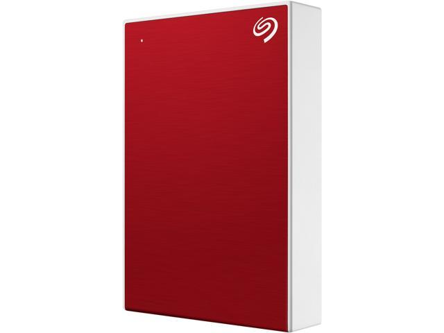 4TB BACKUP PLUS PORTABLE RED