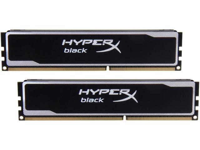 HyperX Black 8GB (2 x 4GB) 240-Pin DDR3 SDRAM DDR3 1600 (PC3 12800) Desktop  Memory Model KHX16C9B1BK2/8X - Newegg com