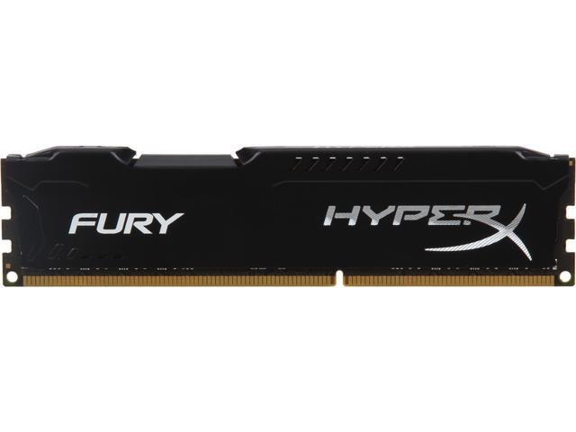 HyperX FURY Series 8 GB DDR3 1600 MHz CL10 Kingston RAM Memory Brand New Sealed