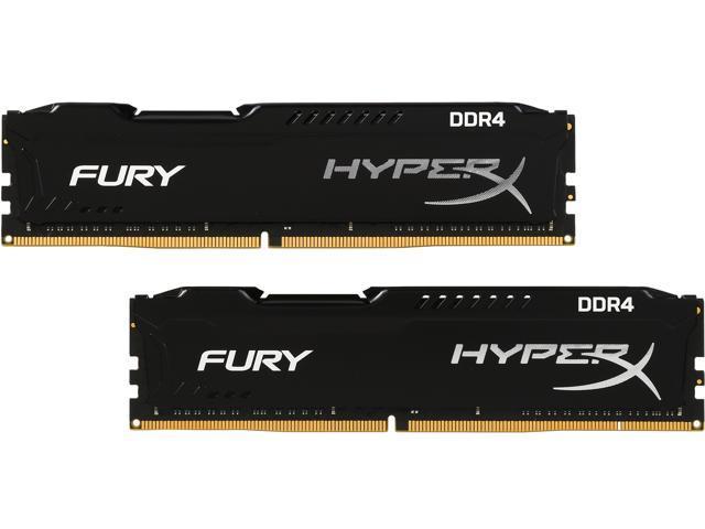 HyperX FURY 16GB (2 x 8GB) 288-Pin DDR4 SDRAM DDR4 2133 (PC4 17000) Desktop  Memory Model HX421C14FBK2/16 - Newegg com