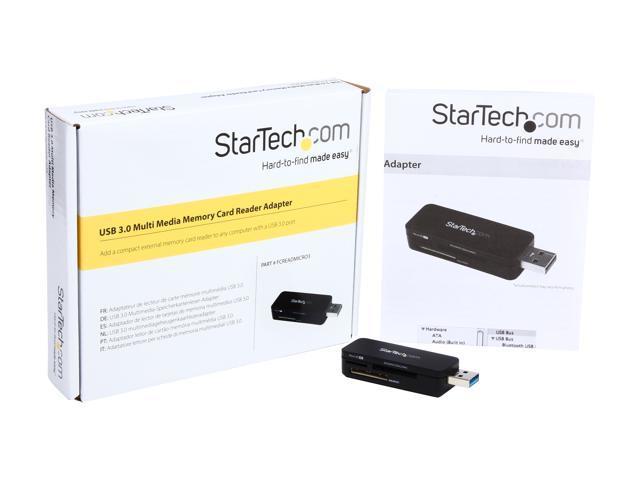 USB 3.0 USB-C Startech CFast Card Reader Memory Card UASP USB Powered