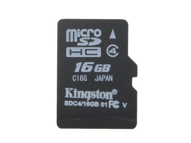 Professional Kingston 16GB MicroSDHC Card for Samsung Galaxy Core Advance Smartphone with custom formatting and Standard SD Adapter. Class 4 .