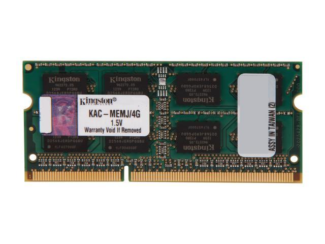 Kingston 4gb 204 Pin Ddr3 So Dimm Unbuffered Ddr3 1333 Pc3 10600