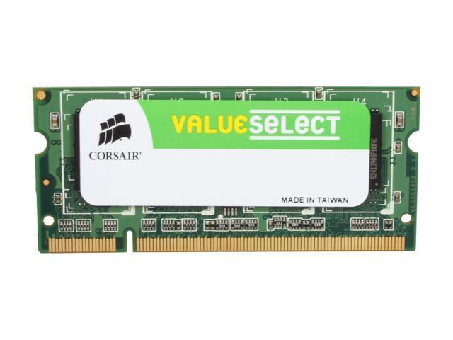 CORSAIR Model VS1GSDS667D2 Laptop Memory - Newegg com