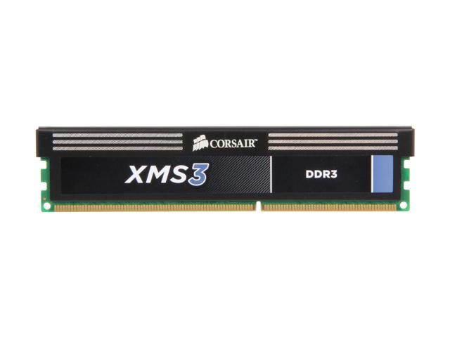 PC3 10666 Corsair CMV8GX3M1A1333C9 8GB Desktop Memory 1.5V DDR3 1333 MHz 1x8GB