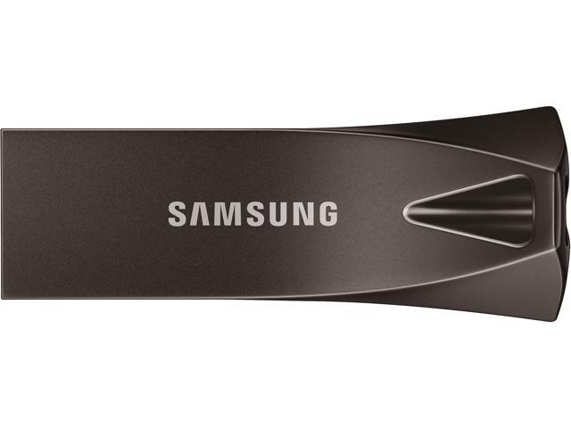 SAMSUNG 64GB BAR Plus (Metal) USB 3.1 Flash Drive, Speed Up to 300MB/s (MUF-256BE4/AM)