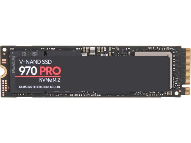 SAMSUNG 970 PRO M.2 2280 1TB PCIe Gen 3.0 x4, NVMe 1.3 V-NAND 2-bit MLC Internal Solid State Drive (SSD) MZ-V7P1T0E