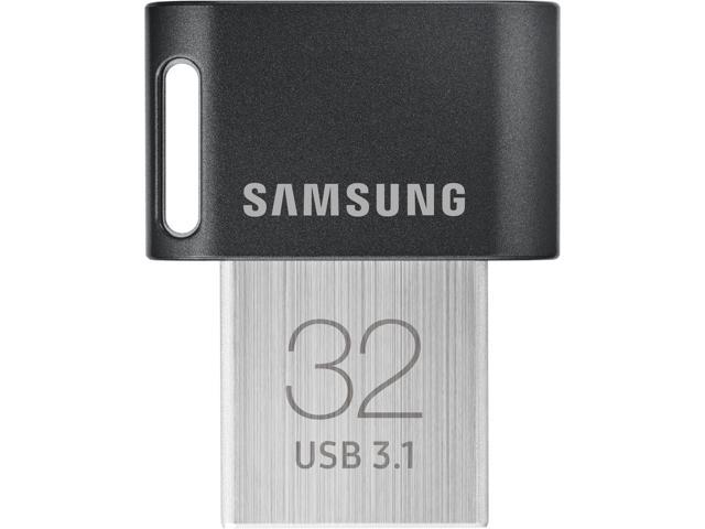 Samsung 32GB FIT Plus USB 3.1 Flash Drive, Speed Up to 200MB/s (MUF-32AB/AM)