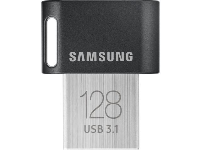 Samsung 128GB FIT Plus USB 3.1 Flash Drive, Speed Up to 300MB/s (MUF-128AB/AM)