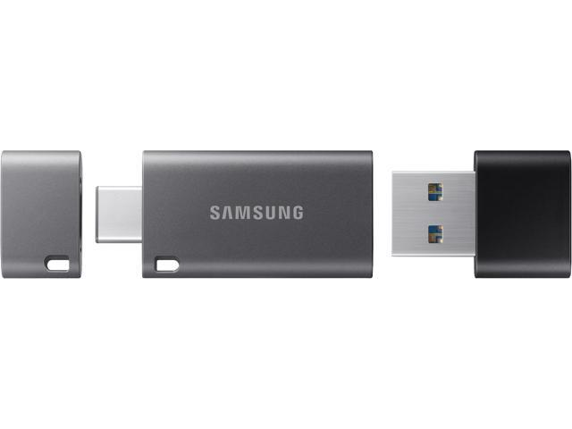 Samsung 32GB DUO Plus USB 3.1 Flash Drive, Speed Up to 200MB/s (MUF-32DB/AM)