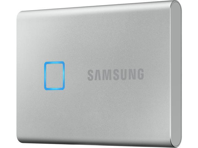 SAMSUNG T7 Touch 500GB USB 3.2 Gen 2 External Solid State Drive