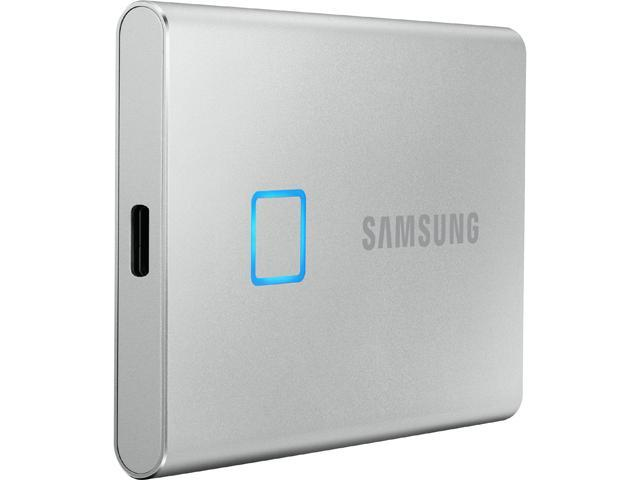 SAMSUNG T7 Touch 1TB USB 3.2 (Gen 2, 10Gbps) Backwards Compatible Portable Solid State Drive