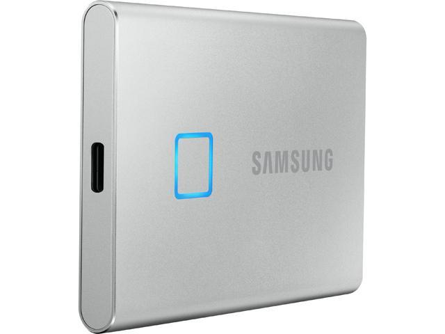 SAMSUNG T7 Touch 500GB USB 3.2 (Gen 2, 10Gbps) Backwards Compatible Portable Solid State Drive
