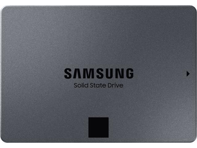 """SAMSUNG 870 QVO Series 2.5"""" 1TB SATA III Samsung 4-bit MLC V-NAND Internal Solid State Drive (SSD) MZ-77Q1T0B/AM"""