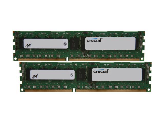 Crucial CT2KIT51272BQ1339 DDR3 SDRAM Memory Module 8GB Kit 4GBx2 DDR3 PC3-10600