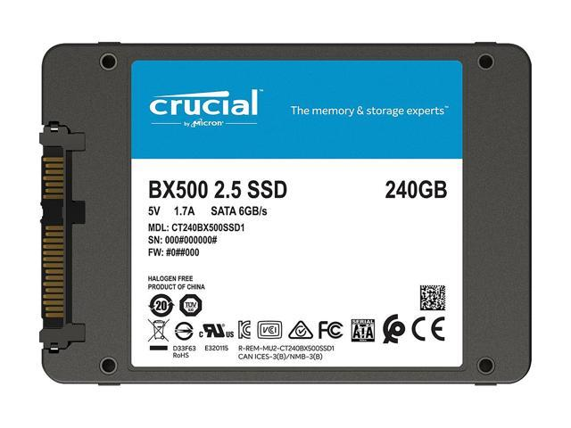 Crucial BX500 2 5
