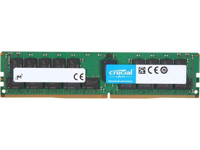Crucial 32GB 288-Pin DDR4 SDRAM ECC Registered DDR4 2933 (PC4 23400) Server  Memory Model CT32G4RFD4293 - Newegg com