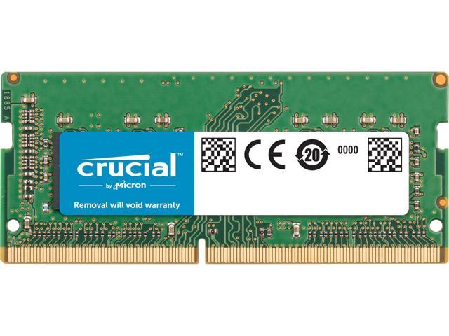 C... Crucial 8GB Single DDR4 2666 MT//s PC4-21300 SR x8 SODIMM 260-Pin Memory