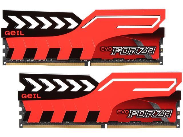 GeIL EVO FORZA 16GB (2 x 8GB) 288-Pin DDR4 SDRAM DDR4 3200 (PC4 25600)  Memory (Desktop Memory) Model GFR416GB3200C16DC - Newegg com