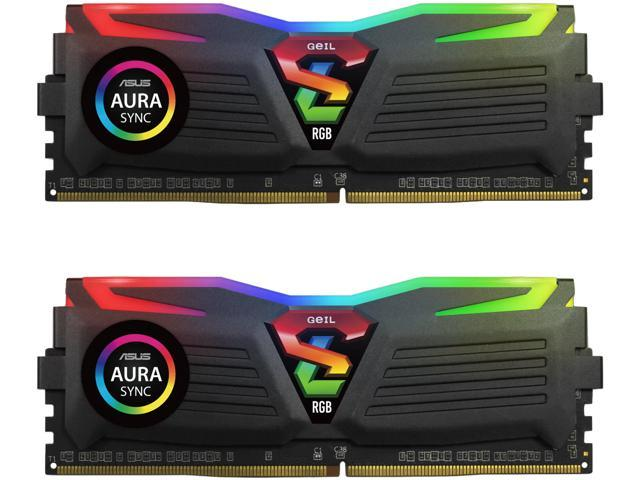 GeIL SUPER LUCE RGB SYNC 16GB (2 x 8GB) 288-Pin DDR4 SDRAM DDR4 3000 (PC4  24000) Desktop Memory Model GLS416GB3000C16ADC - Newegg com