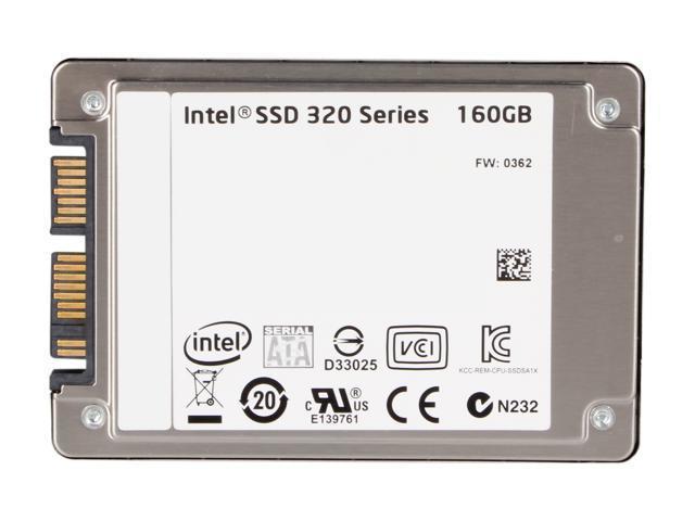 """SSD Intel 320 Series 40GB,Internal,2.5/"""" SSDSA2BT040G3"""